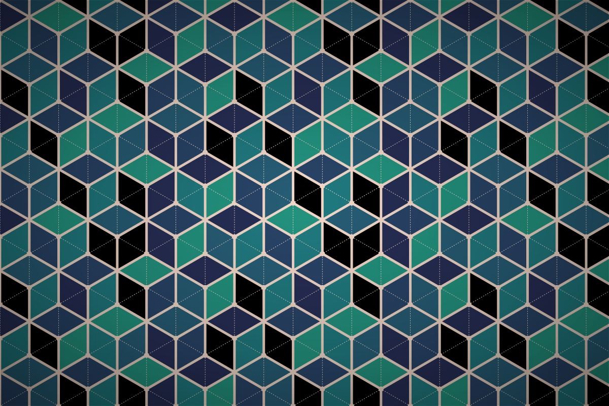 hexagonal cube mesh wallpaper patterns 1200x800