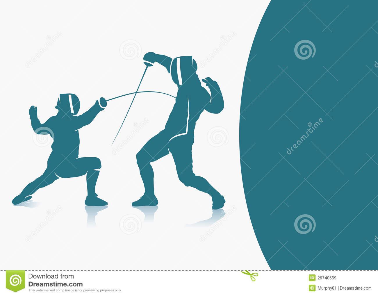 Fencing Background Illustration 26740559   Megapixl 1300x1018