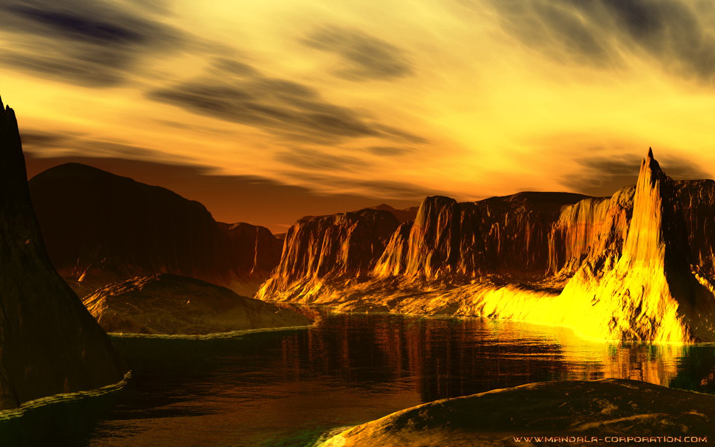 Alien Planet Landscapes Wallpaper - WallpaperSafari