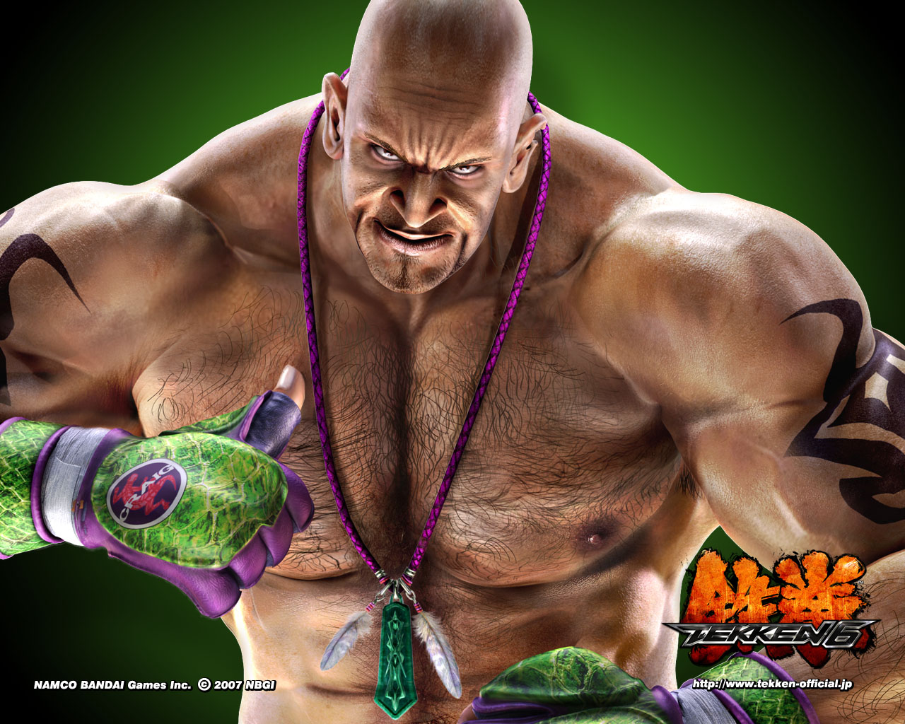 Tekken 6 King Wallpaper