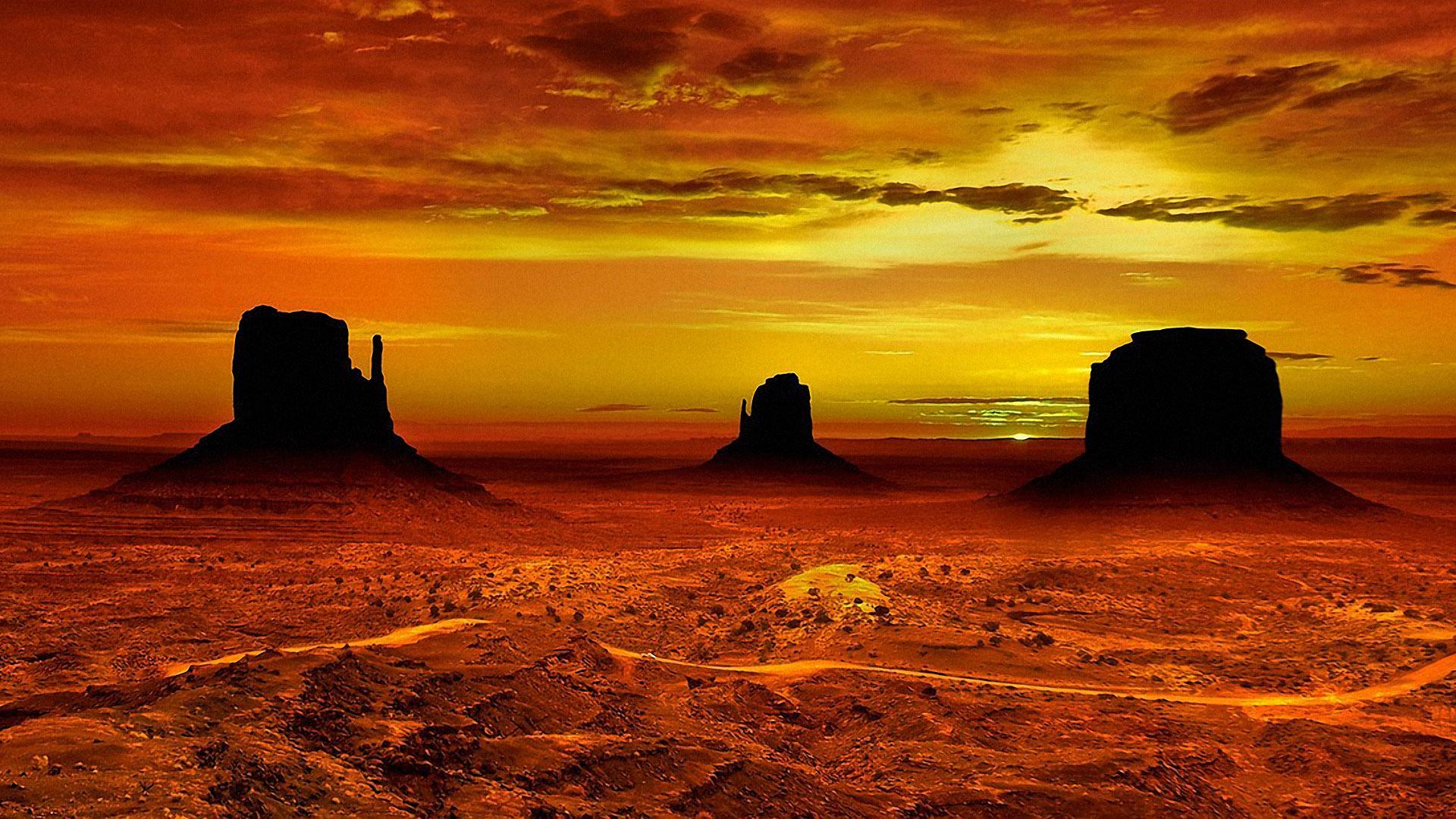 wallpaper sunset mountain arizona - photo #44