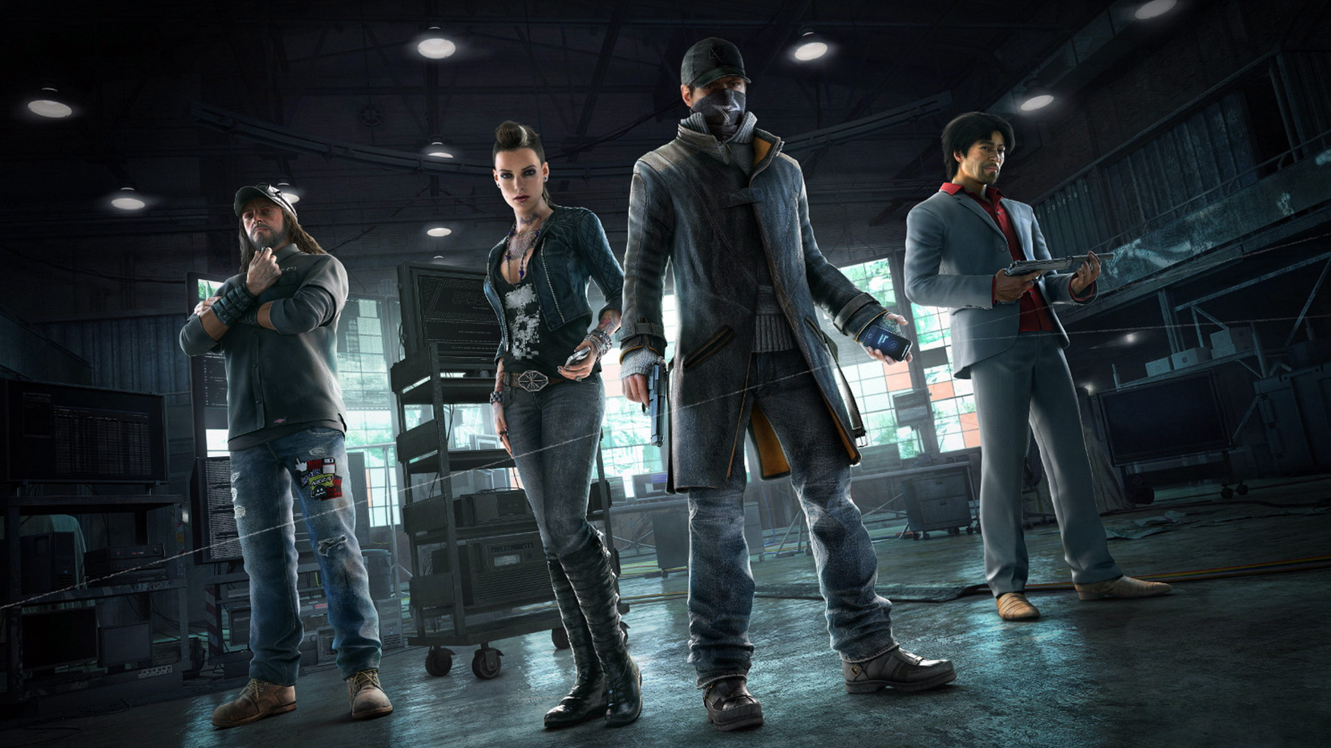 Watch Dogs Game Characters Wallpaper HD 1920x1080