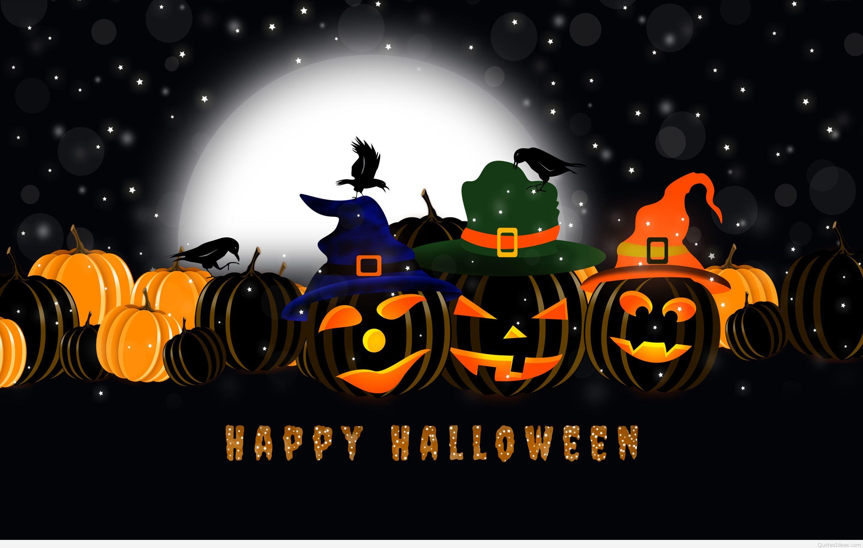 Pumpkin Happy Halloween backgrounds 2015 2016 2880x1827