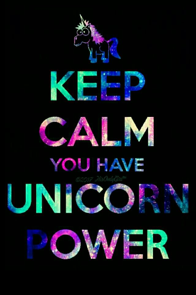 Unicorn power iPhoneAndroid galaxy wallpaper I created for the 640x960