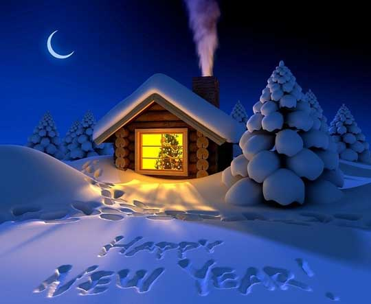 2016 Happy New Year Night HD Wallpapers Images Pictures Background 540x443