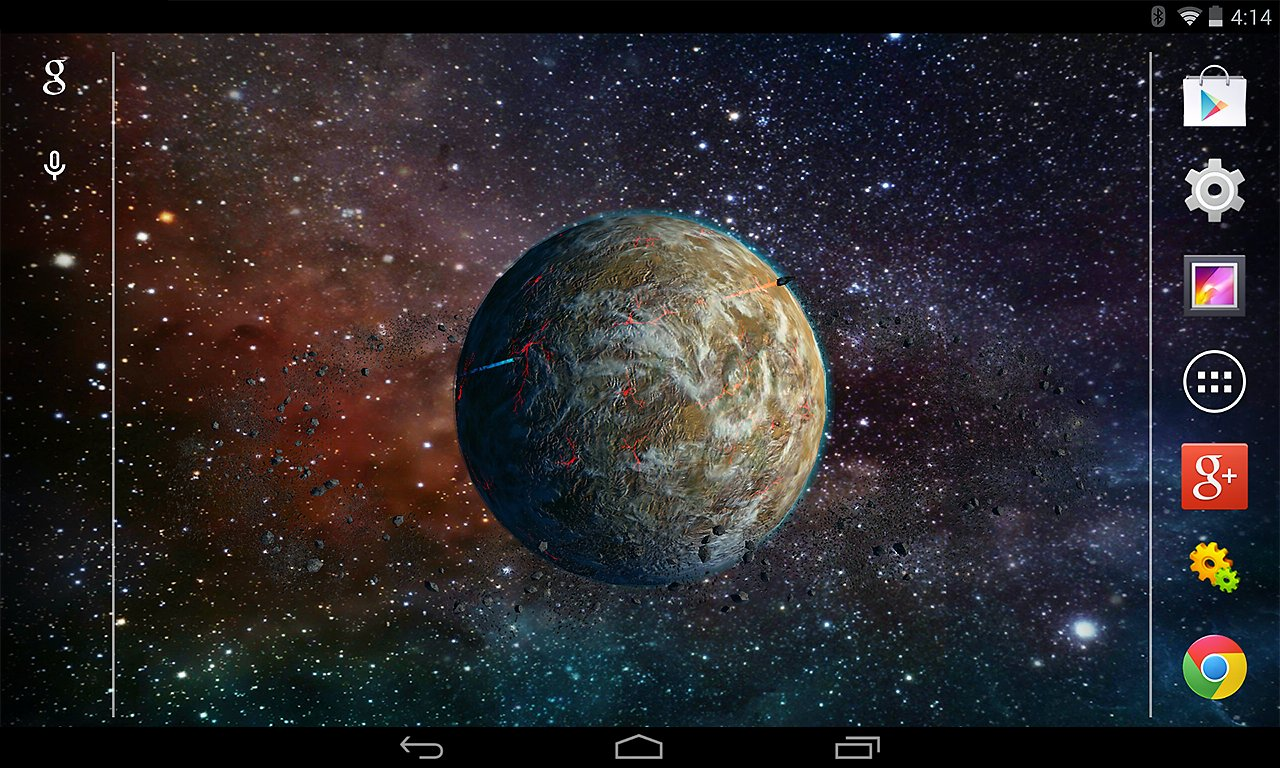 3D Planet Live Wallpaper   Applicazioni e Giochi Android 1280x768