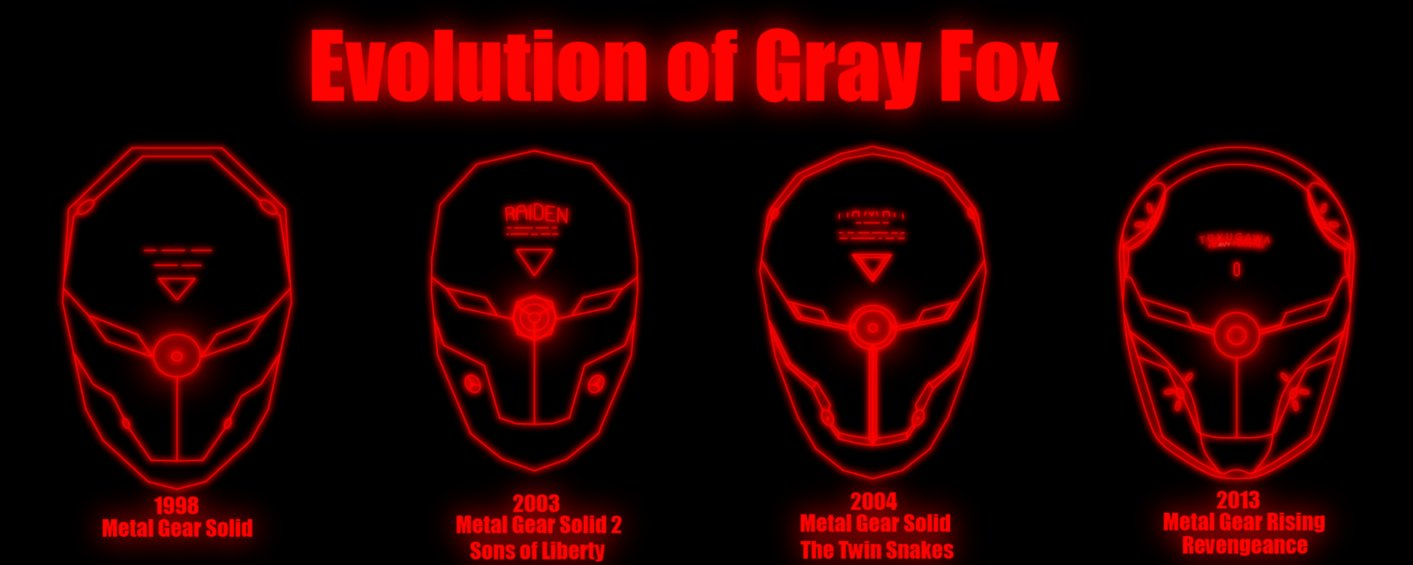 Metal Gear Gray Fox Wallpaper Wallpapersafari