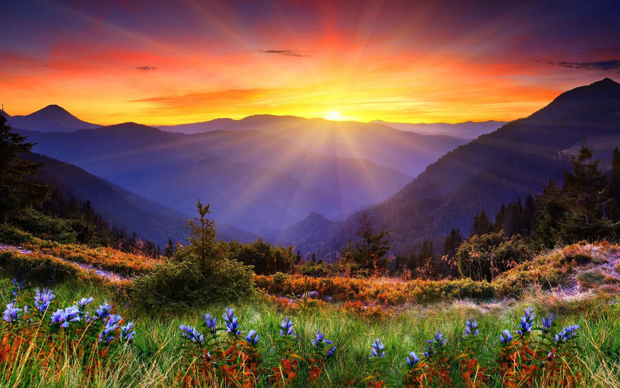 красочный город в горах  № 2347233 бесплатно