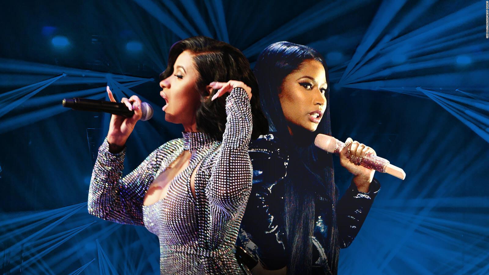 Nicki Minaj launches merchandise line based on Cardi B fight   CNN 1600x900