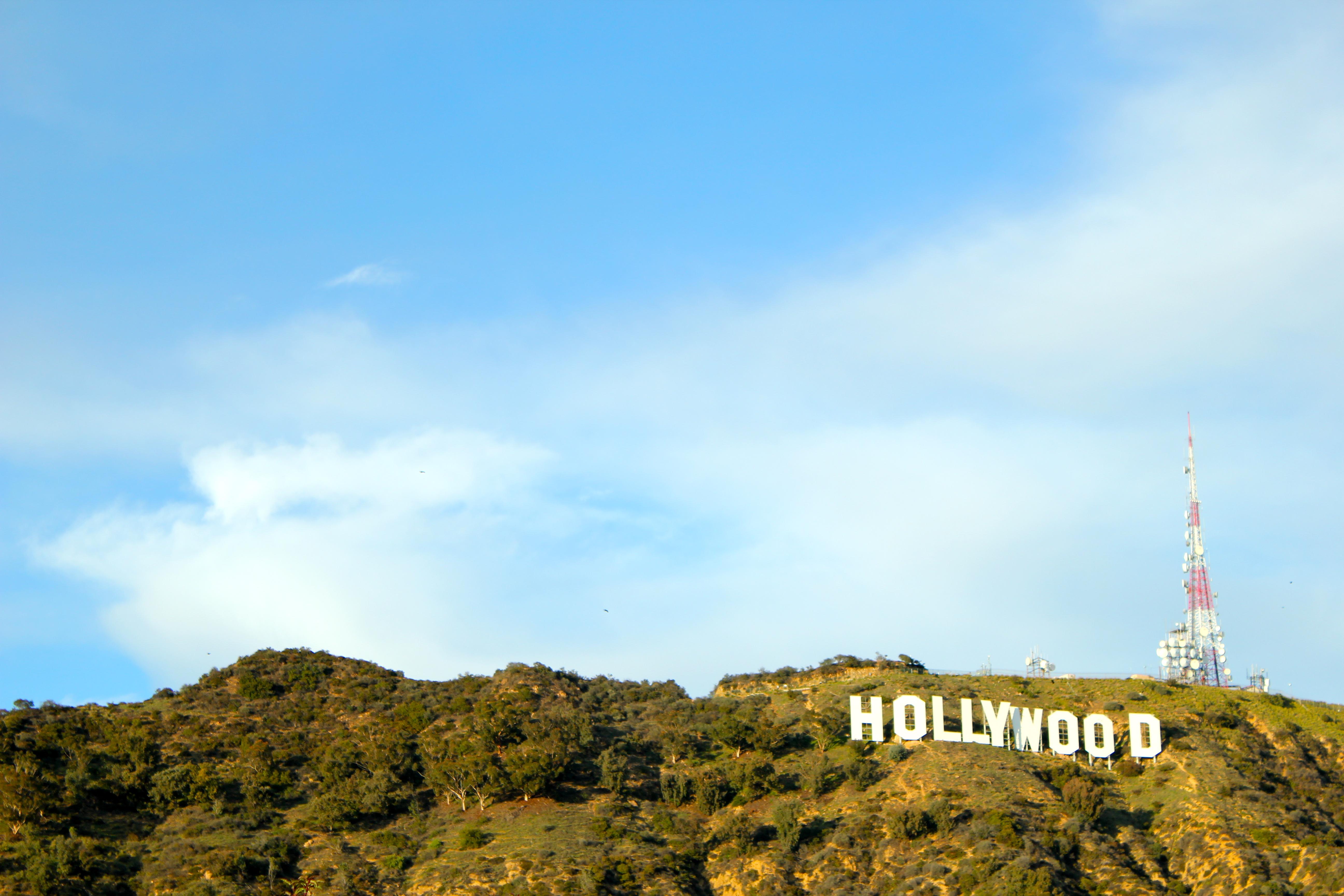Hollywood Sign Wallpapers - WallpaperSafari  Hollywood Sign ...