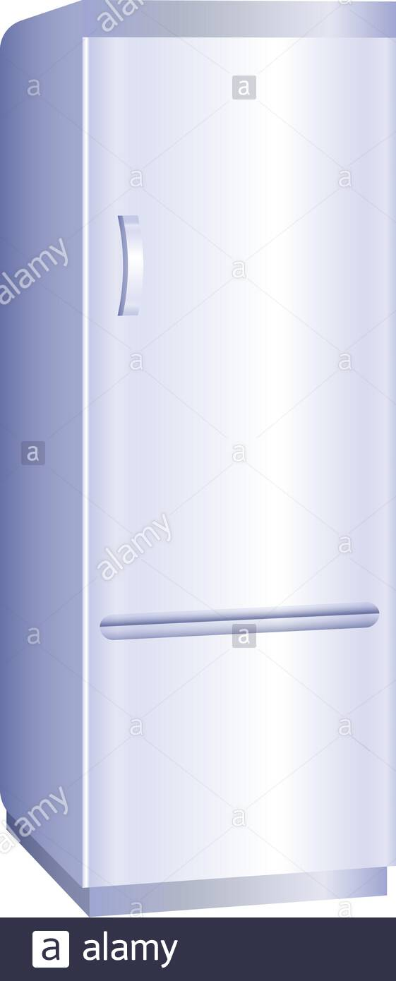 Fridge freezer icon Cartoon of fridge freezer vector icon for web 561x1390