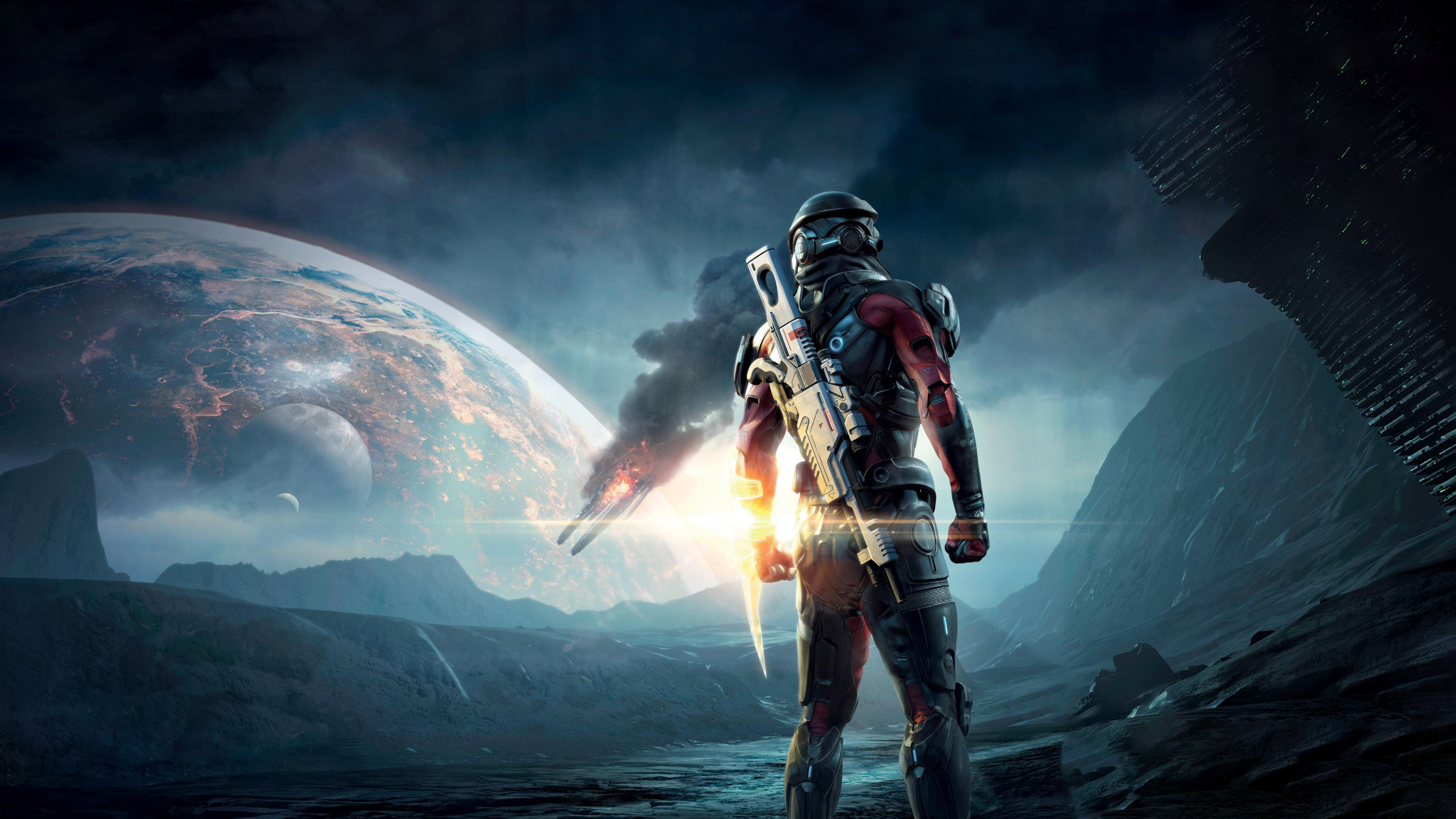 1057 Mass Effect HD Wallpapers Background Images 3840x2160