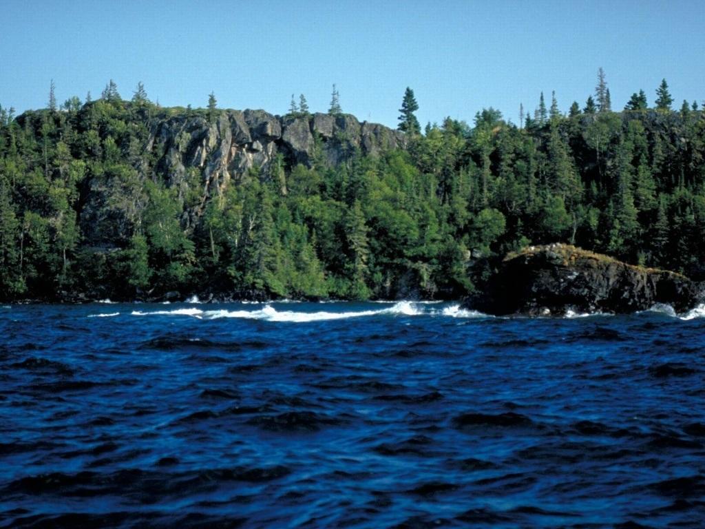 Isle Royale National Park Lake Superior Michigan Us Wallpaper Lake 1024x768