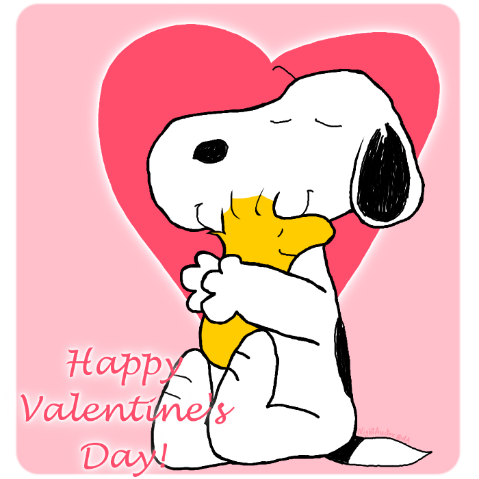 snoopy wallpaper valentines day