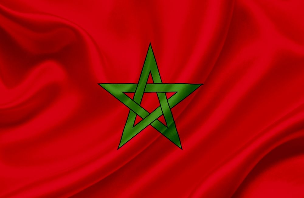 Moroccan flag North Africa in 2019 Morocco North africa 1000x653