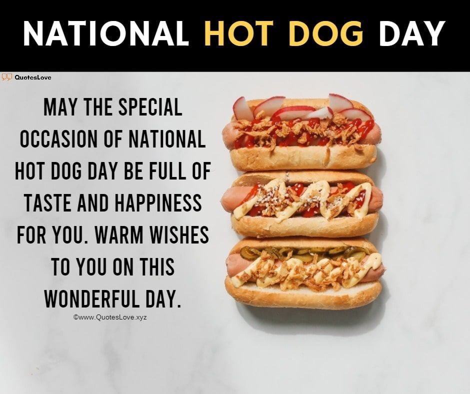 25 [Best] National Hot Dog Day 2020 Quotes Sayings Wishes 940x788