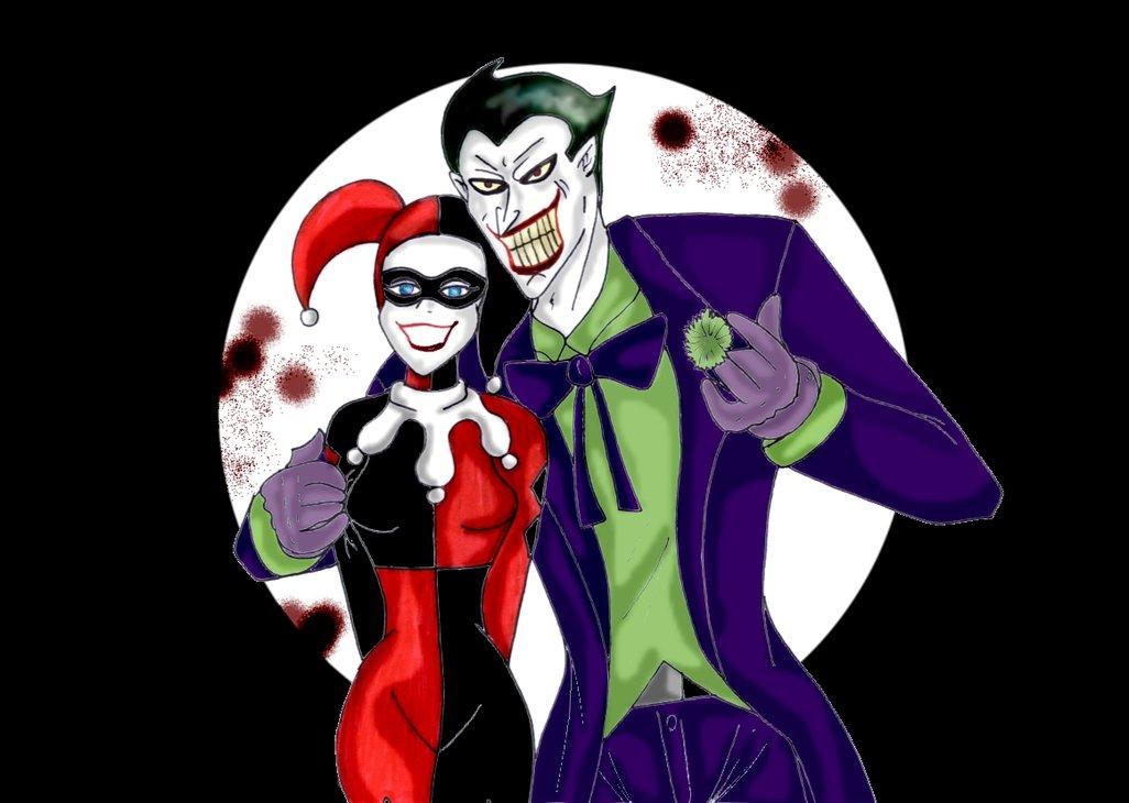 Joker and Harley Quinn by Soraya7 1026x730