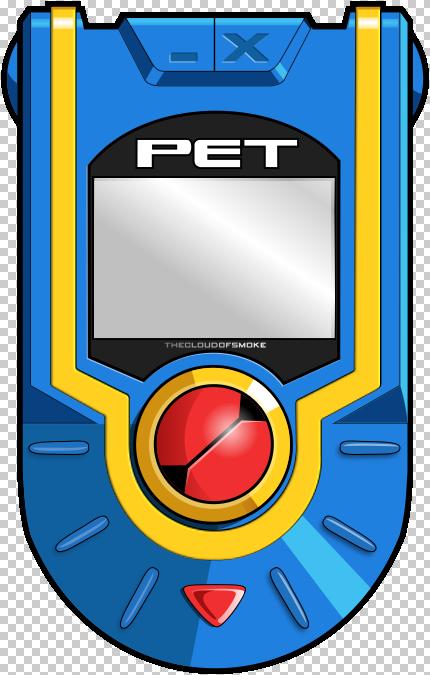 Megaman Battle Network PETpsd by TheCloudOfSmoke 430x675