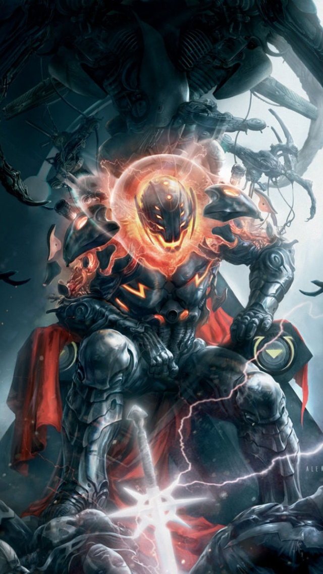Marvel Villain iPhone 5 Wallpaper 640x1136 640x1136