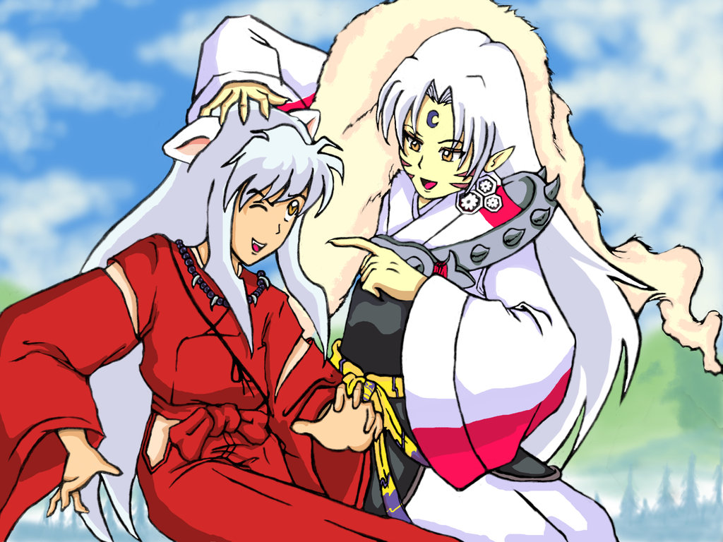 Inuyasha And Sesshomaru   Anime Wallpaper Pictures in HD 1024x768