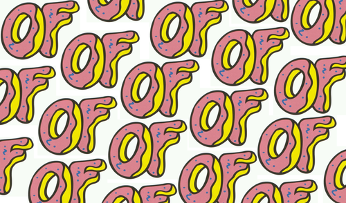 Odd Future Donut Wallpaper