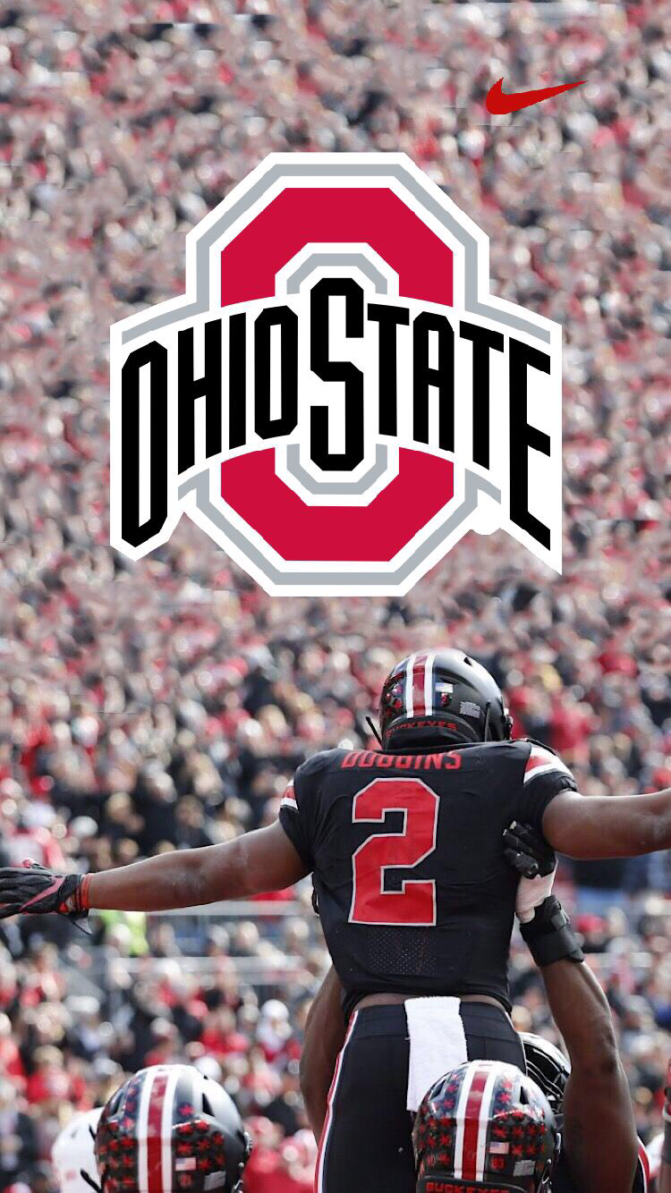 Ohio State JK Dobbins phone wallpaper Chase Young for Heisman 750x1334