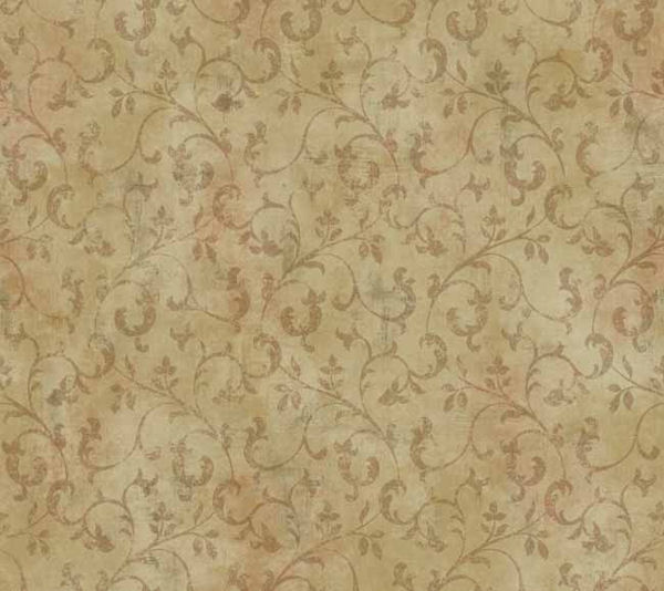 Gold Trailing Leaf Wallpaper   Wall Sticker Outlet 600x534