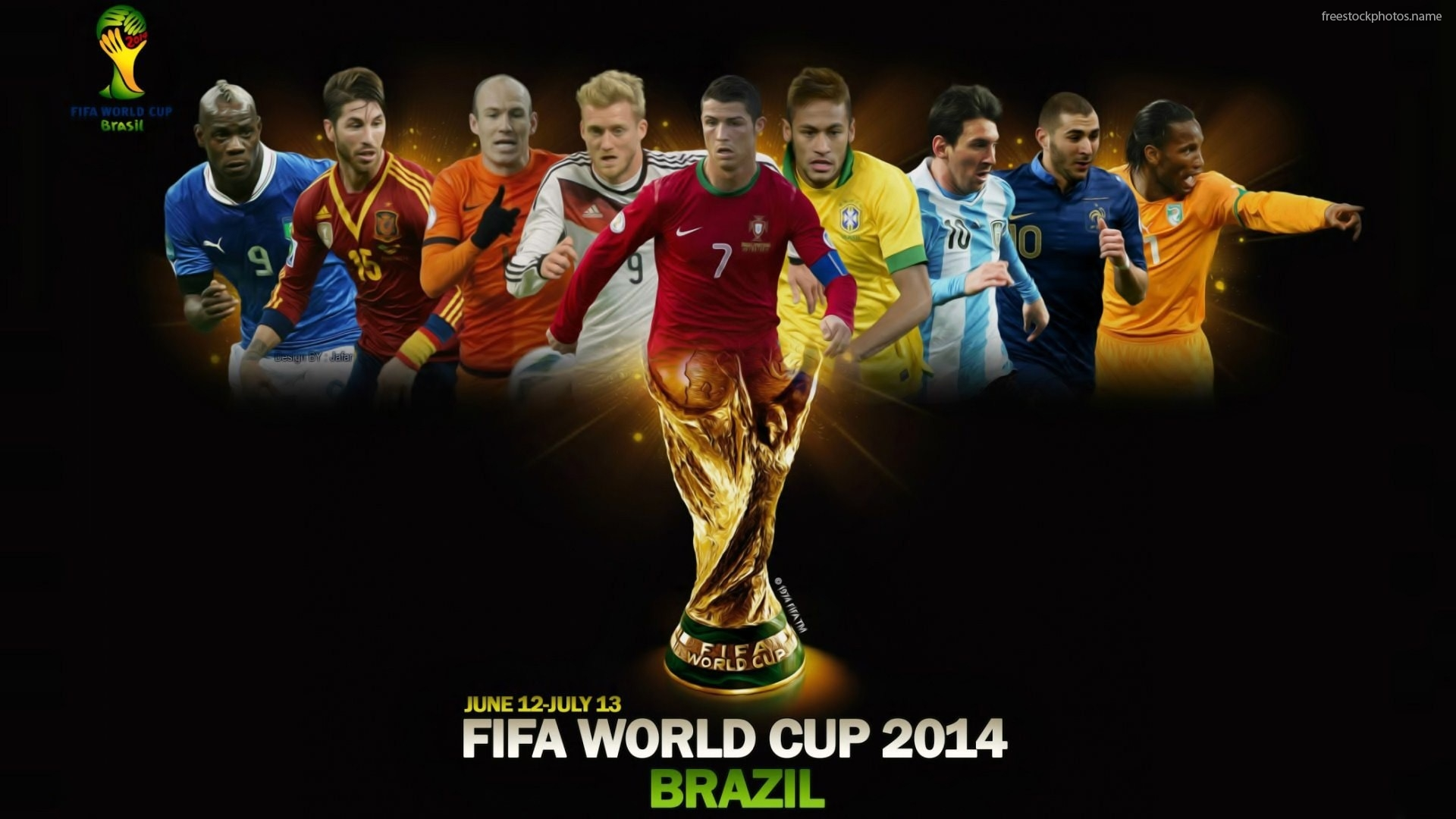 Download Stock Photos of best soccer players in the world 2014 images 1920x1080