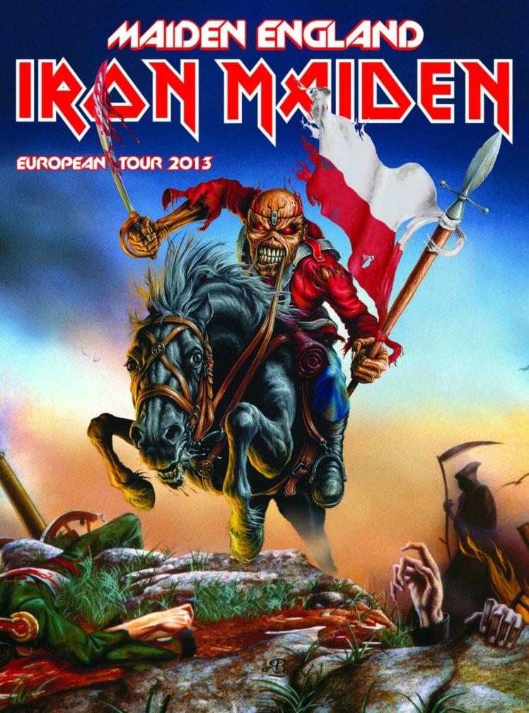 iron Maiden Heavy Metal Power Artwork Dark Evil Eddie 748x1008