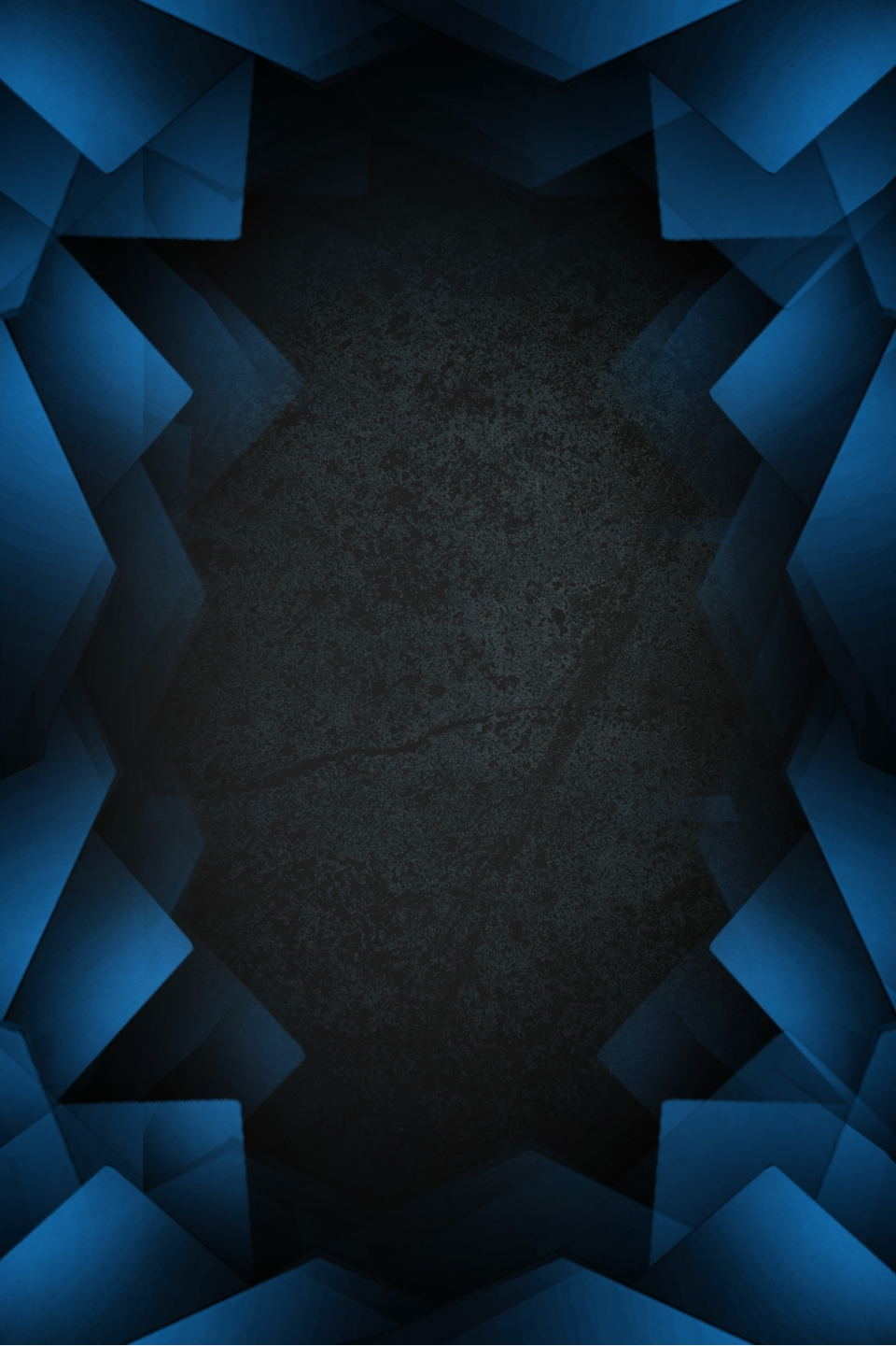 Space Blue Polygon Overlay Background Space Blue Polygon 960x1441