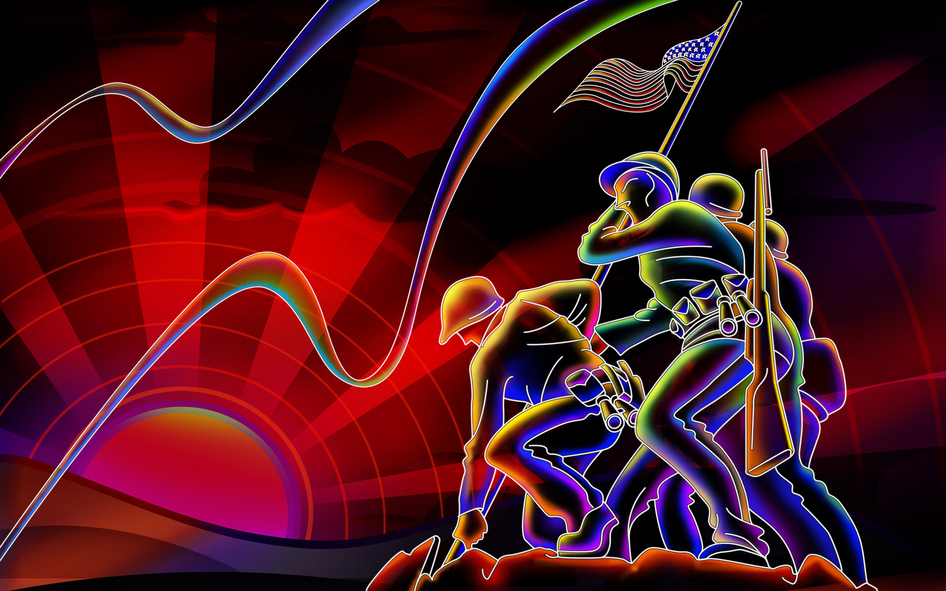 tag neon art wallpapers - photo #47
