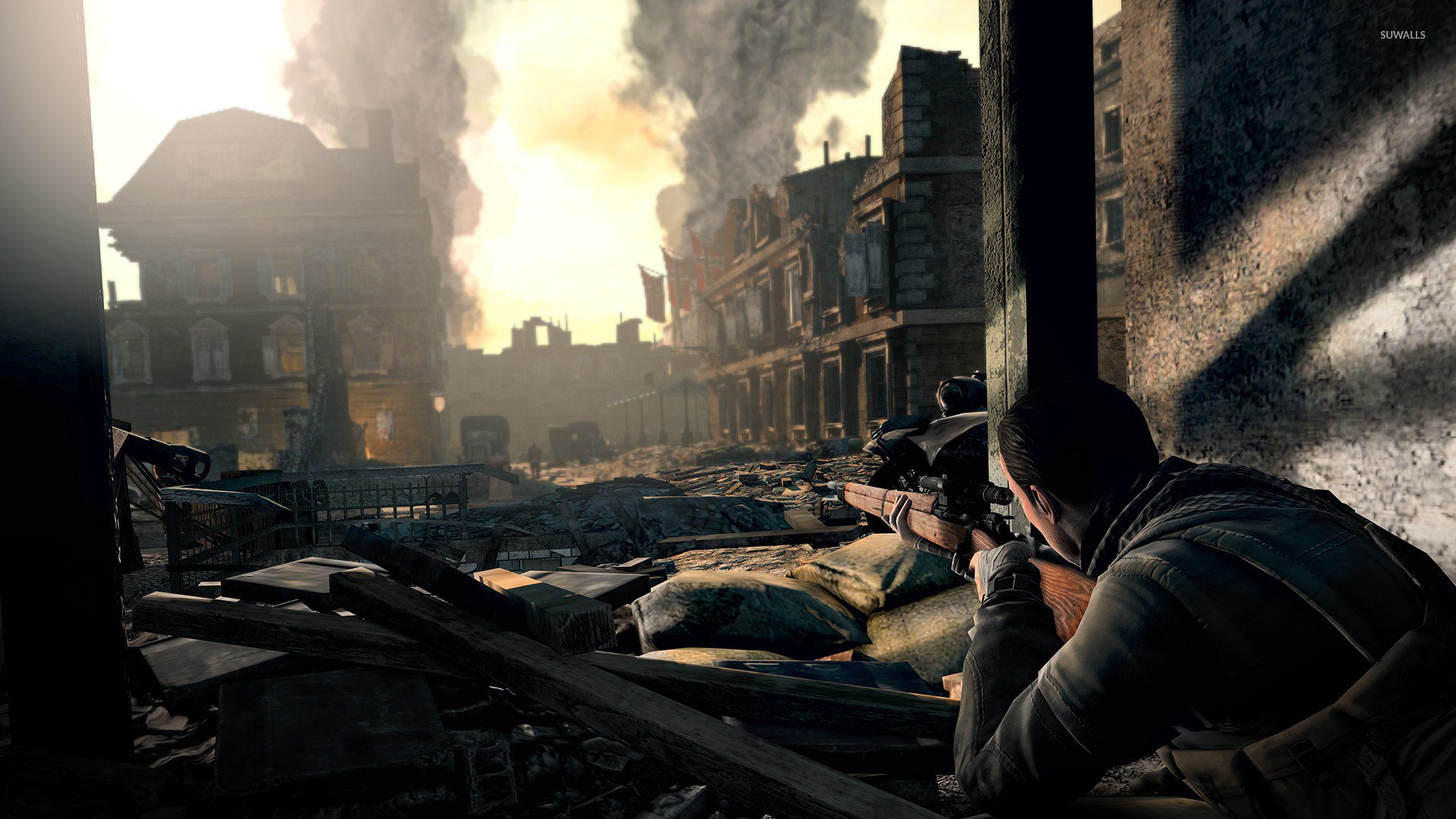 Sniper Elite 3 wallpaper   Game wallpapers   21195 1920x1080