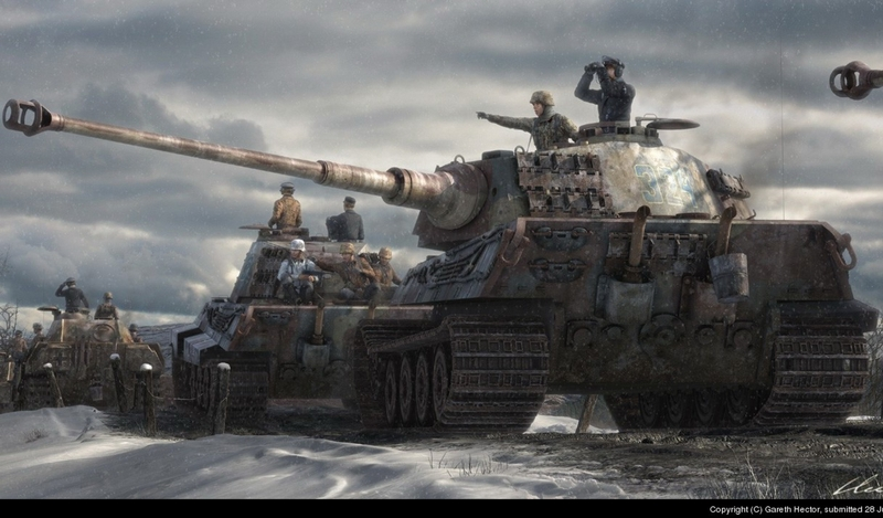 King Tiger tanks king tiger 2434x1428 wallpaper Tiger Wallpaper 800x469