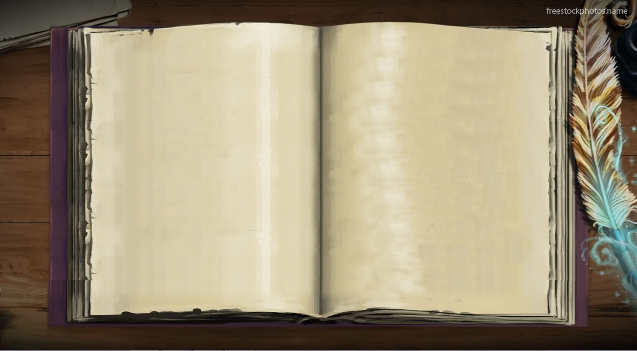 Download Stock Photos of vector open old book images photography 1245x687