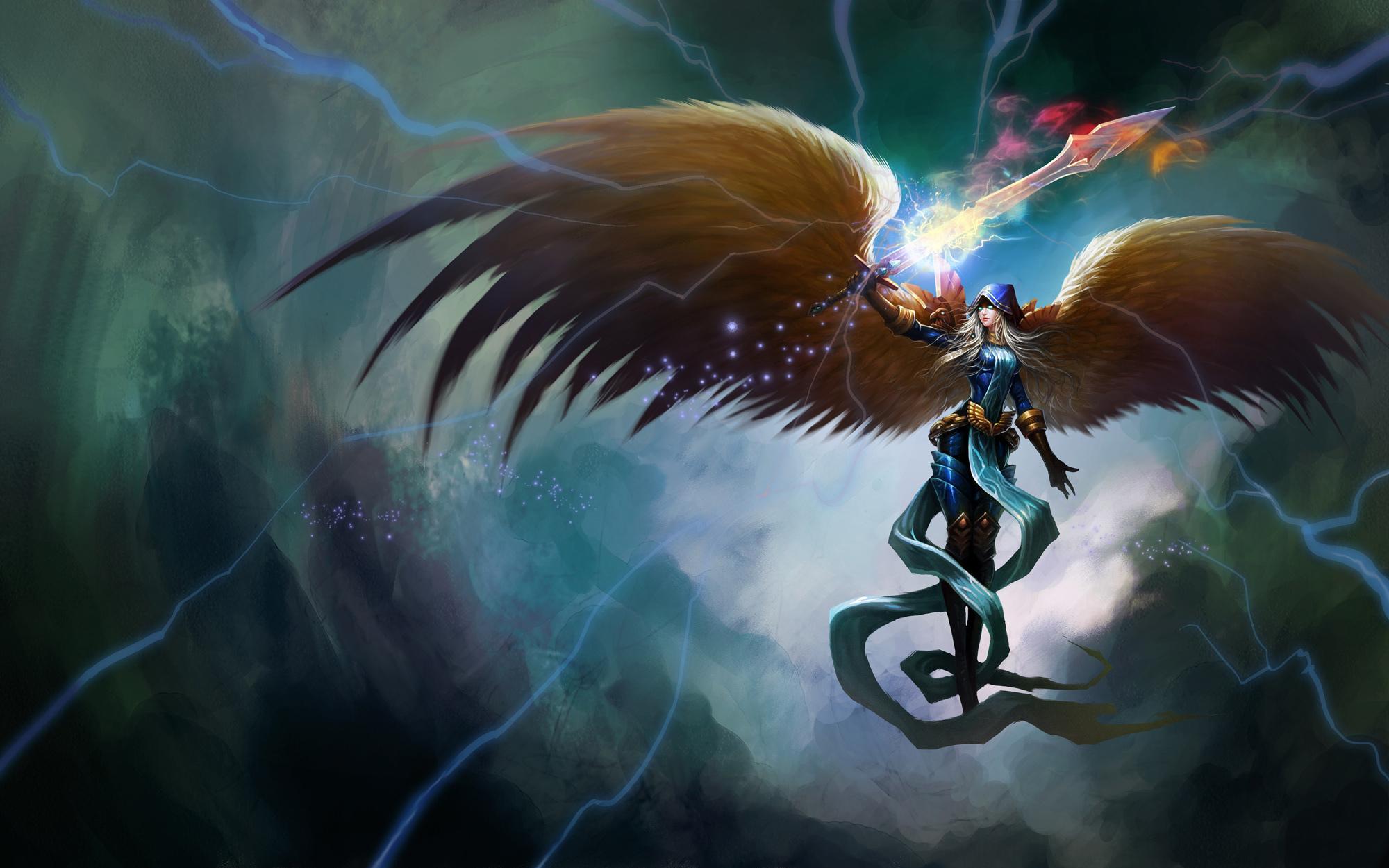 League of angels wallpaper hd 2000x1250