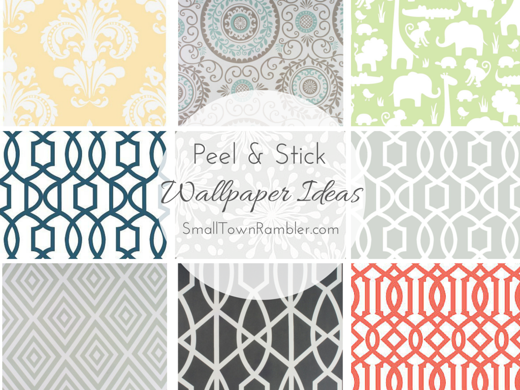 Peel U0026 Stick Wallpaper Ideas At Small Town Rambler   Stick On Wallpaper At  Target