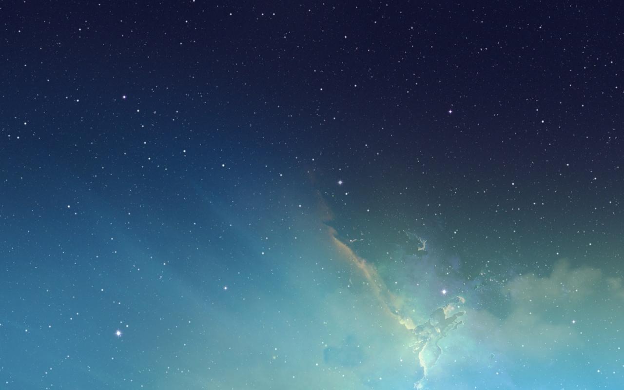 IOS 7 Nebula Wallpaper 1 Ios 7 Wallpaper 4s View Original [Updated 1280x800