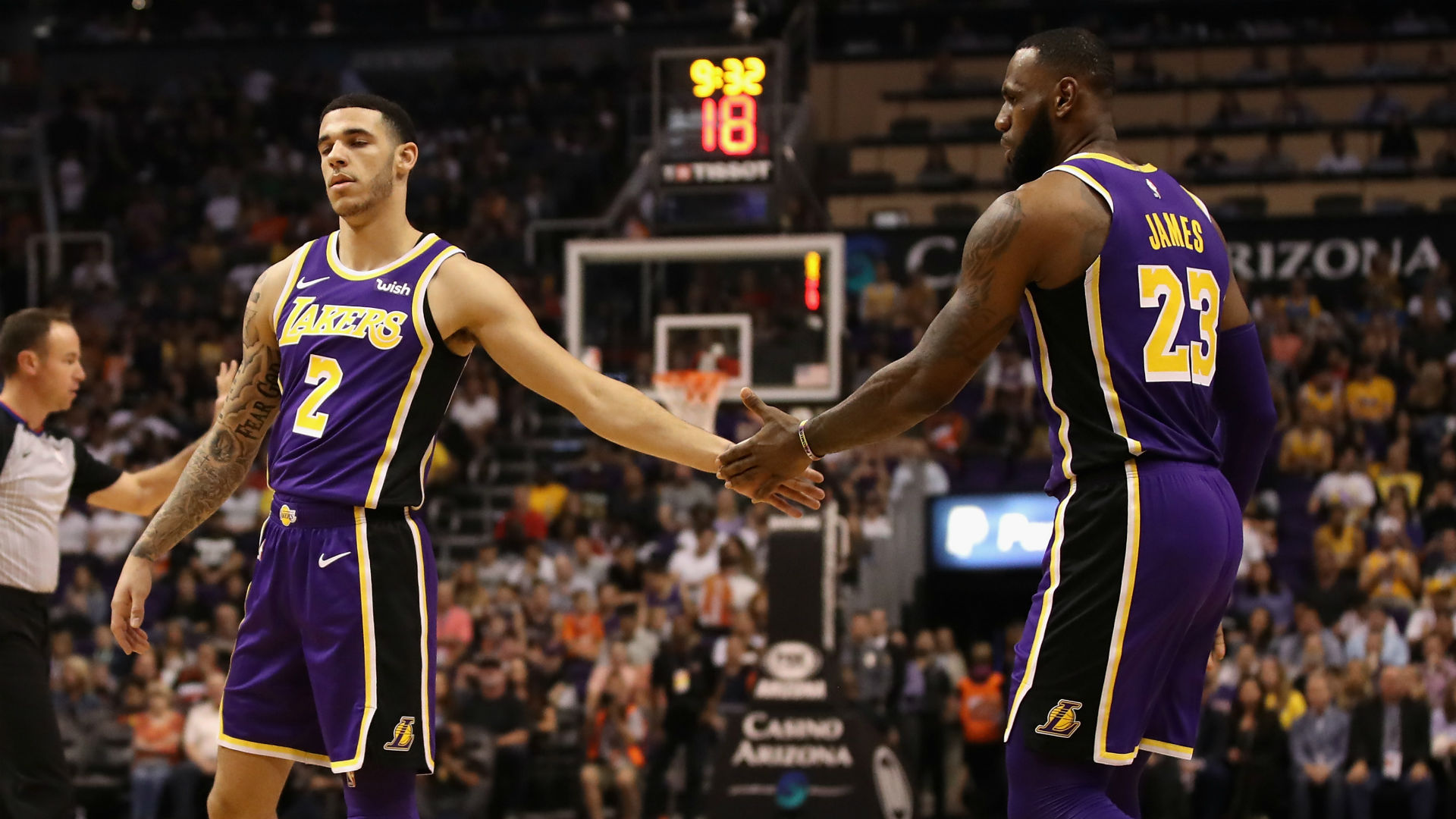 Lakers star LeBron James proud Lonzo Ball is taking control of 1920x1080