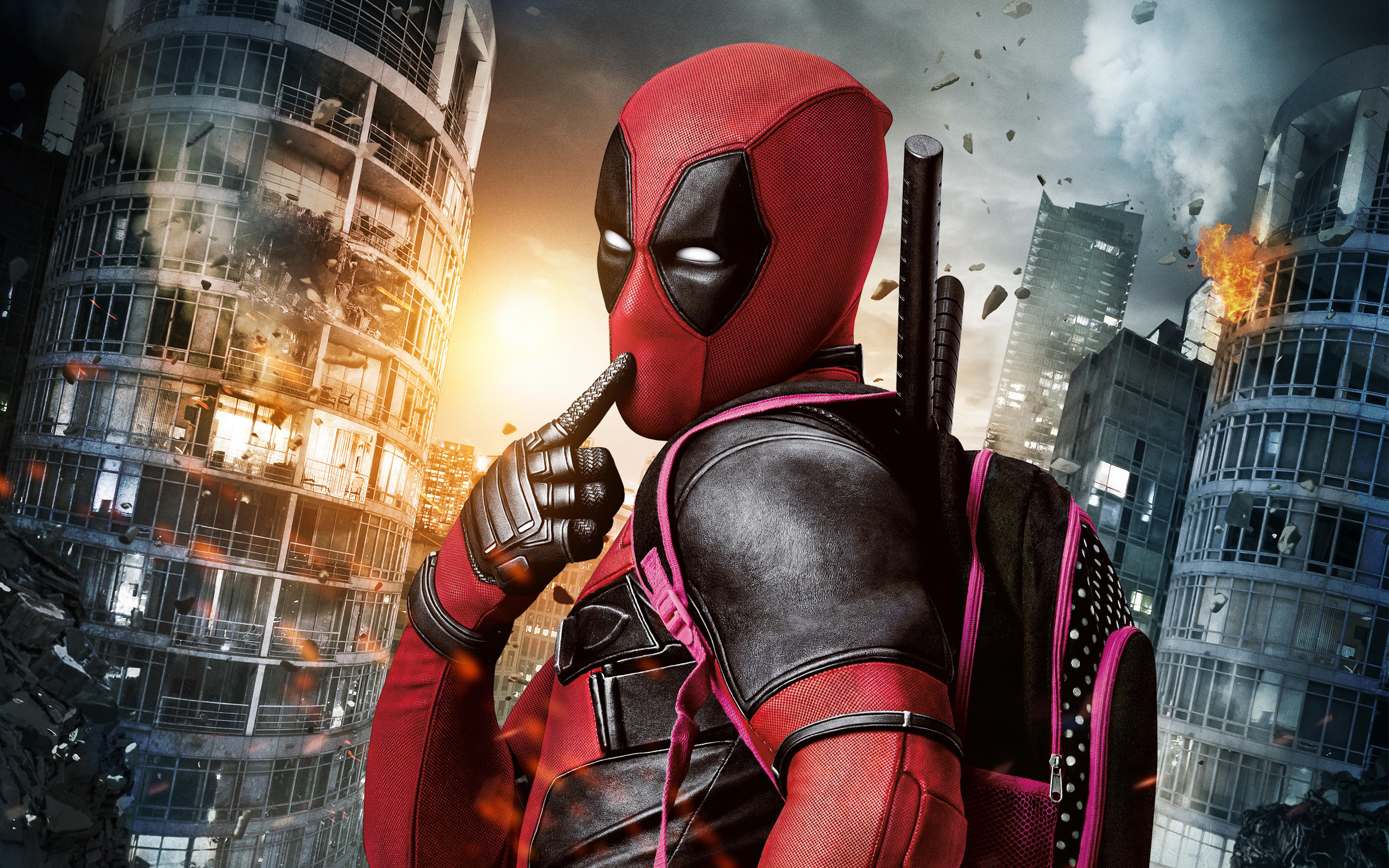 Marvel Deadpool Movie Wallpapers HD Wallpapers 2880x1800