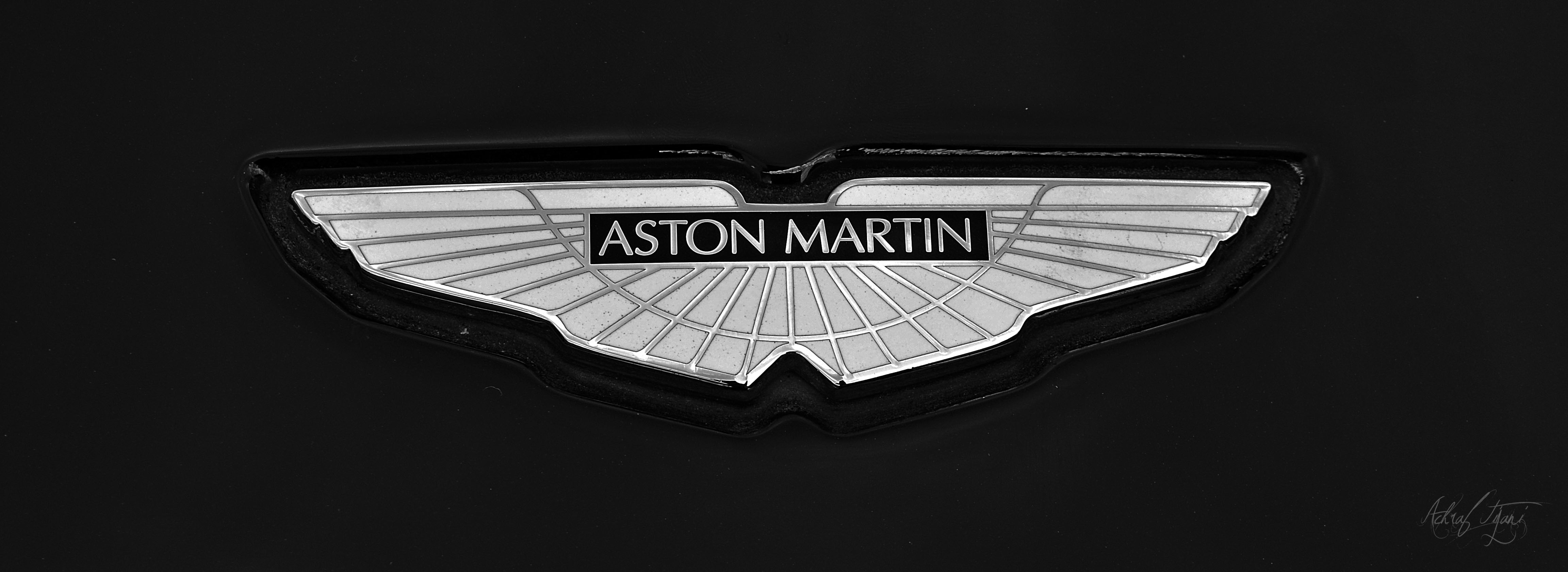 aston martin logo wallpapers Desktop Backgrounds for HD 4608x1680