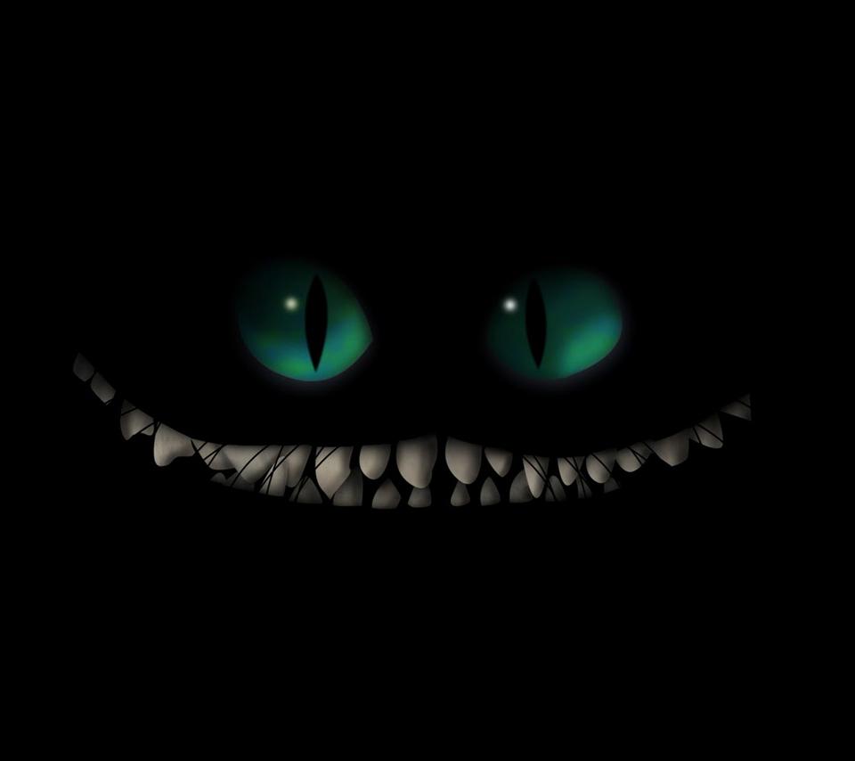 Evil Cheshire Cat Wallpaper