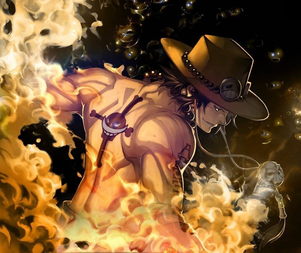 Portgas D Ace One Piece Fire Whitebeard Pirates Wallpapers HD 1024x860