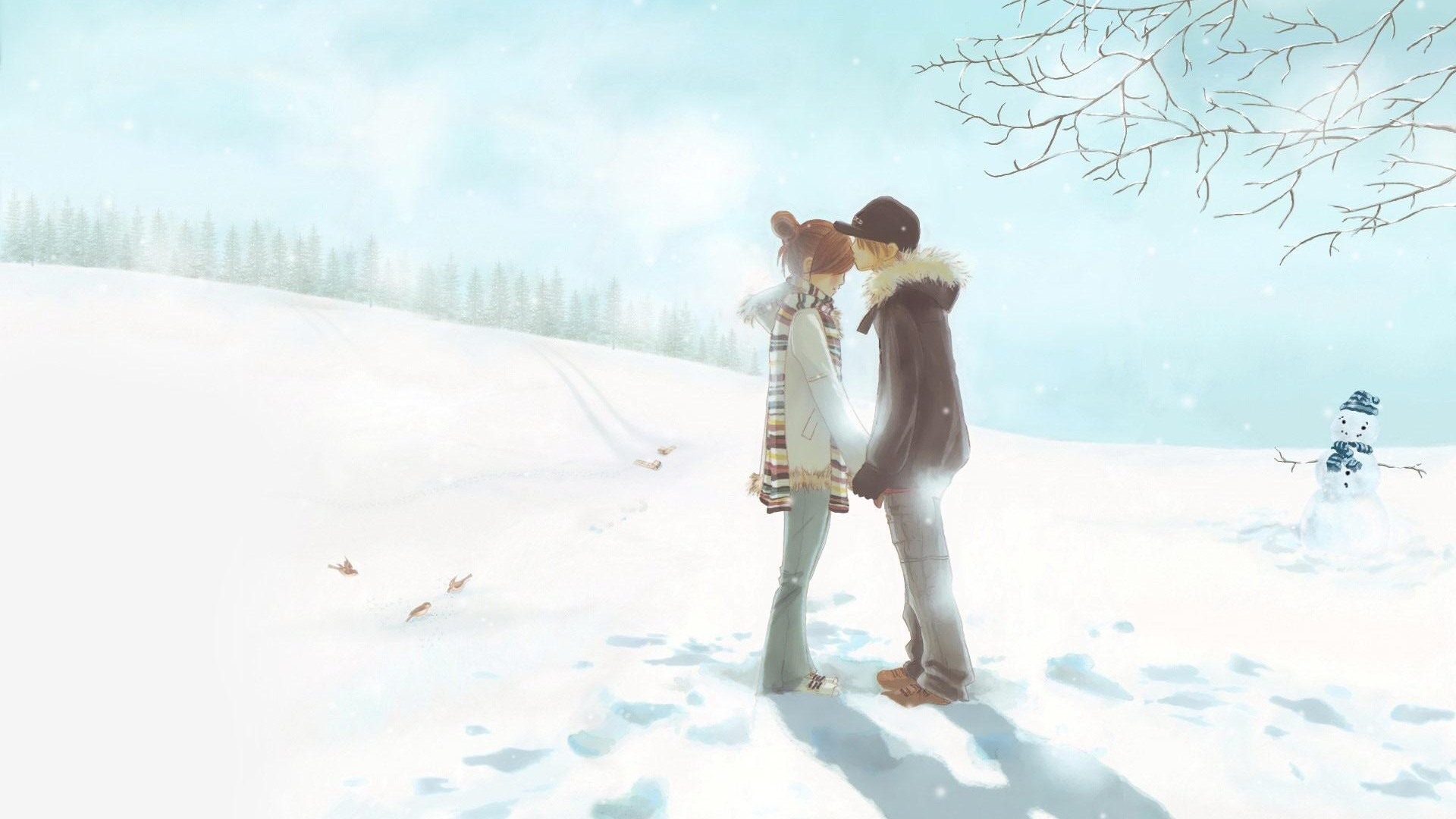 Cute Anime Couple Wallpaper 18880 Wallpapers Coolz HD Wallpaper 1920x1080