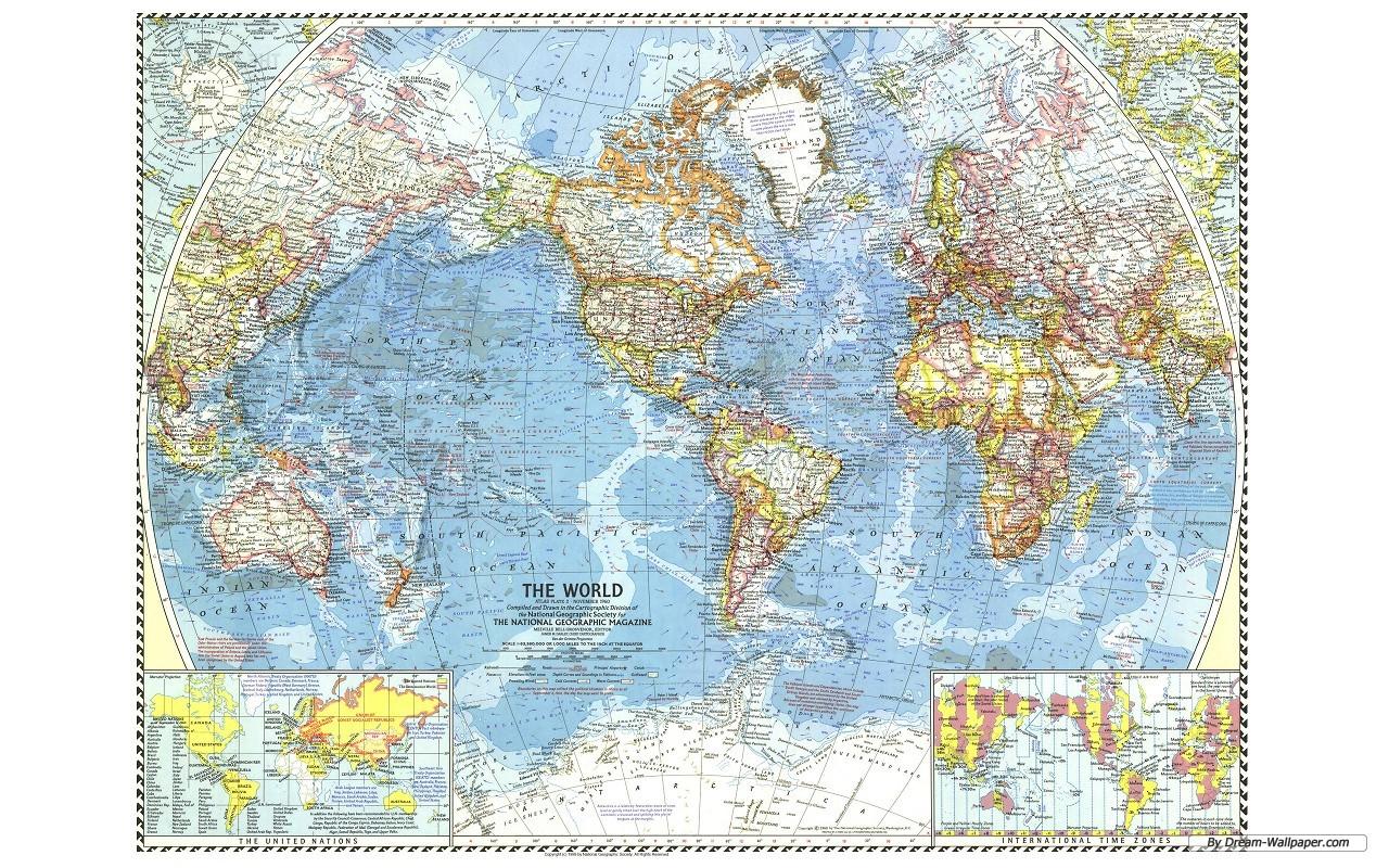 Wallpaper World Maps Wallpapersafari
