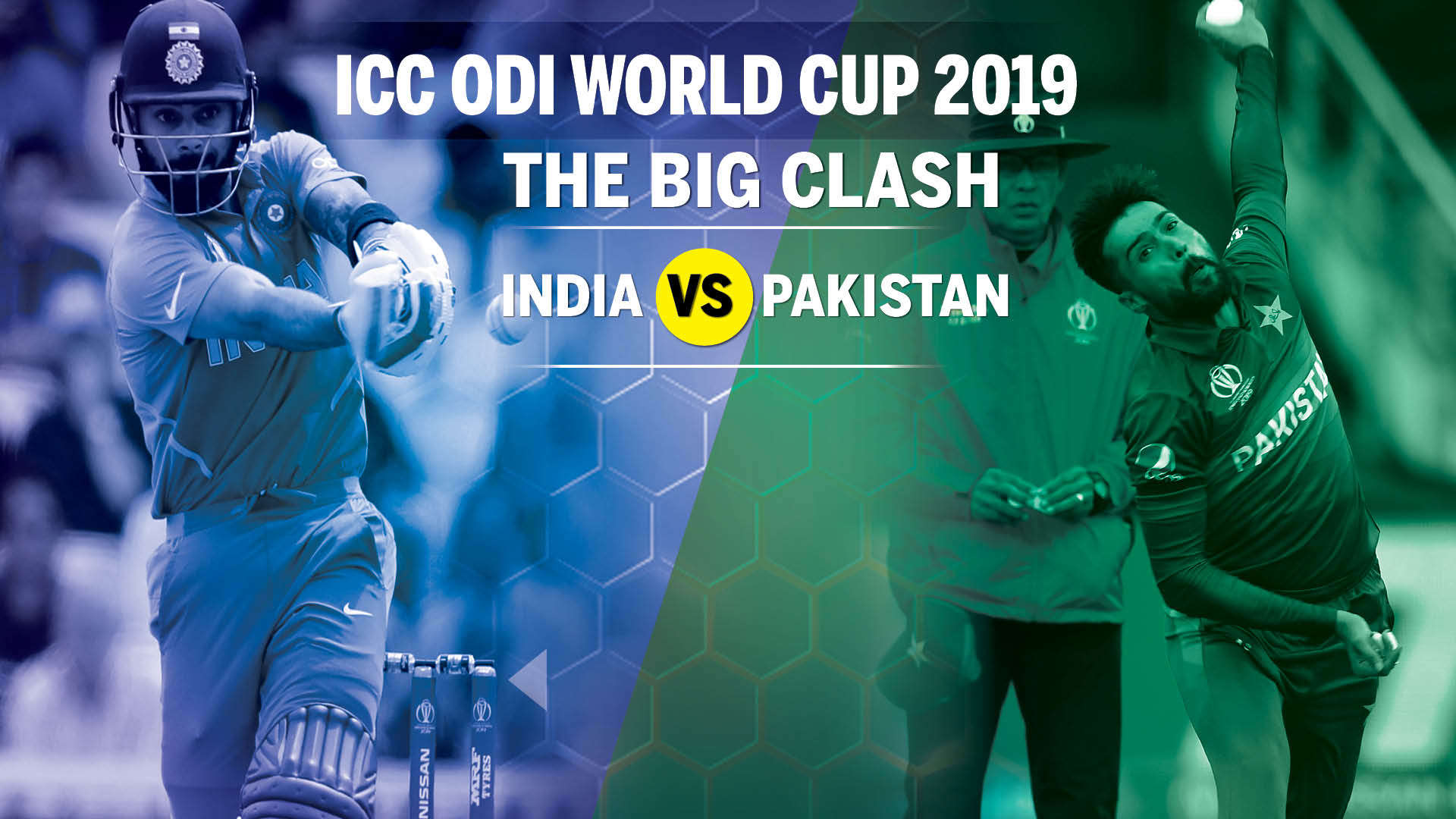 India vs Pakistan World Cup 2019 Will India take their intensity 1920x1080