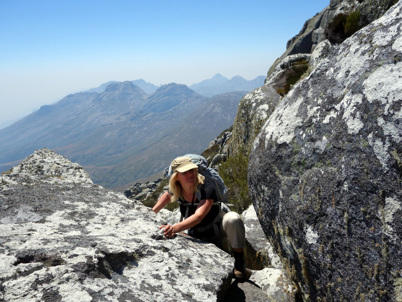 Climbing Sapitwa Peak Mulanje the highest peak in Malawi Mark 1280x960