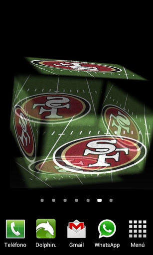 3D San Francisco 49ers LWP   Android Apps Games on Brothersoftcom 307x512