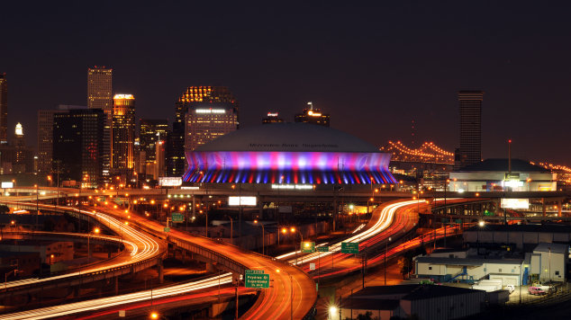Wallpaper City Guide New Orleans Superdome NOLAcom 665x441 View 0 Directions To Louisiana Superdomes Website 634x356
