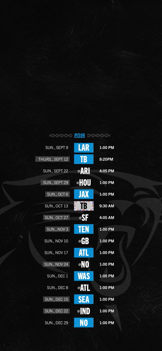 Carolina Panthers on Twitter Going on a following spree Tweet 554x1200