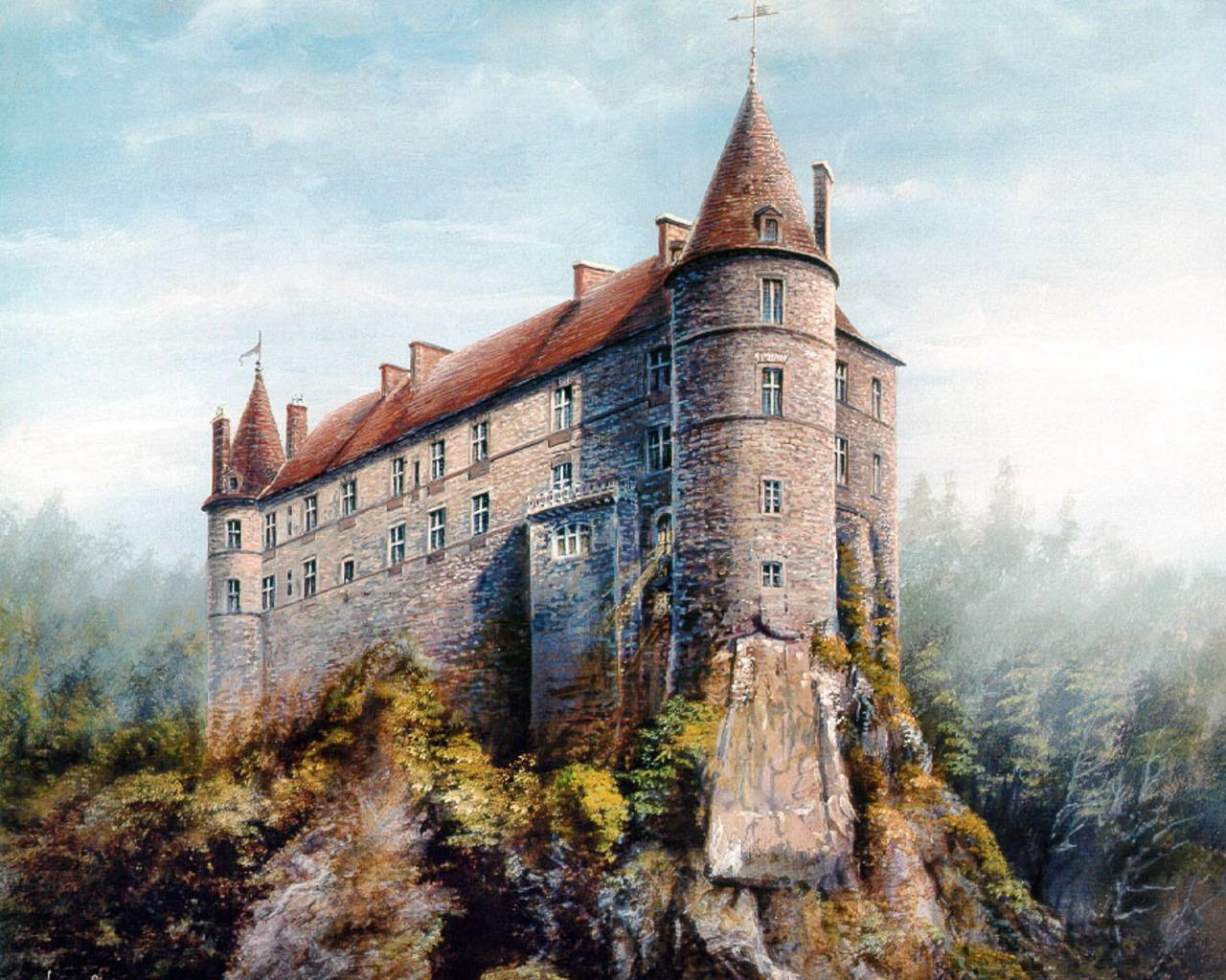 Image for Medieval Castle Desktop Wallpaper 1280x1024